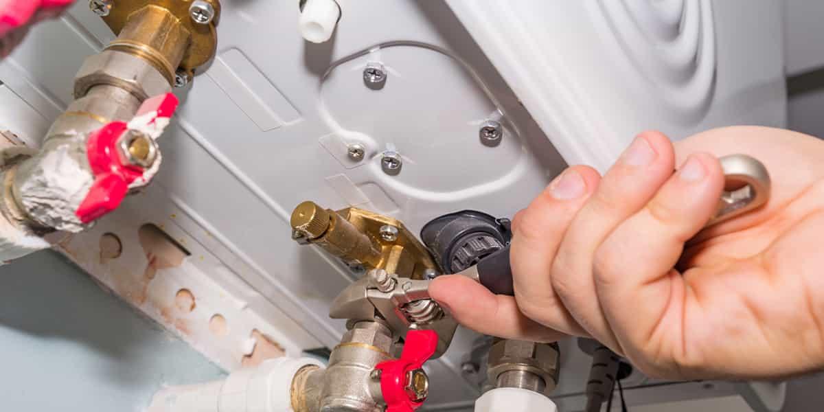 Fuite d'eau chaudière gaz Lappion (02150)